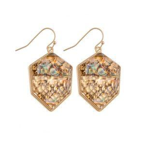 Beautiful tan earrings